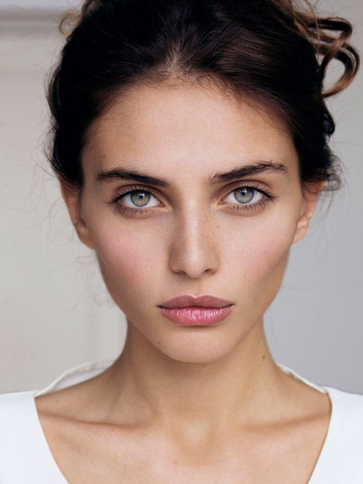 barely there makeup look