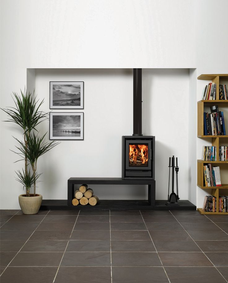 Riva F40 Freestanding Wood Burning Stoves Multi Fuel