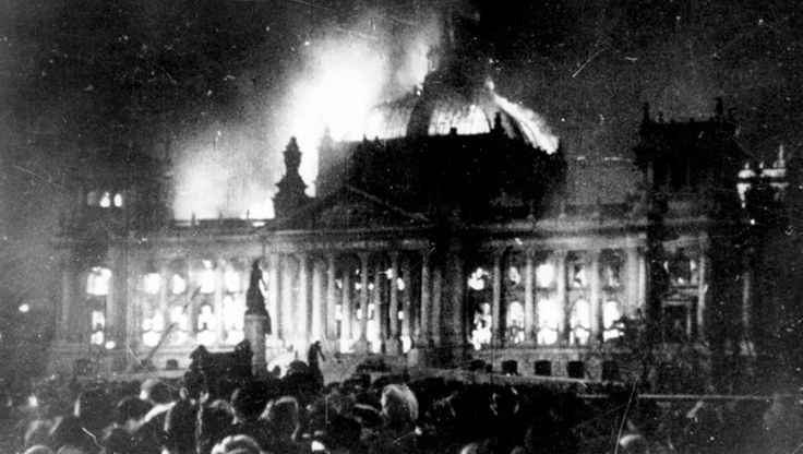 "The day after the Reichstag fire in 1933, Hitler asked for the Reichstag Fire Decree.  It suspended most civil liberties in Germany, including habeas corpus, freedom of expression, freedom of the press, the right of free association and public assembly, the secrecy of the post and telephone.  These rights were not reinstated during Nazi reign. The decree was used by the Nazis to ban publications not considered ""friendly"" to the Nazi cause."