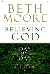 Beth Moore bible study. This was one of the best studies I have ever done.
