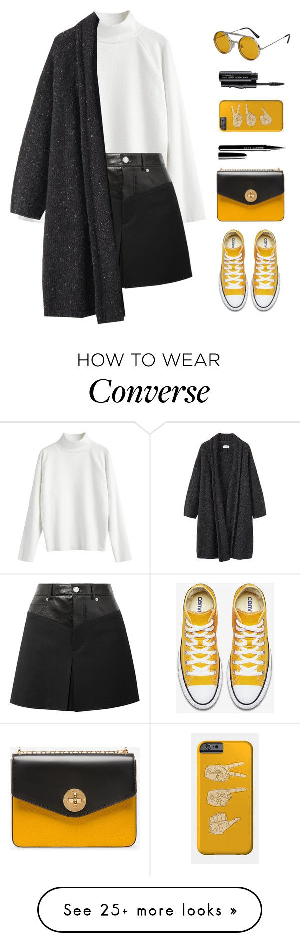 """""""Signals"""" by mariposa-fashion-21 on Polyvore featuring Helmut Lang, Toast, MAC Cosmetics, Bally and Spitfire"""
