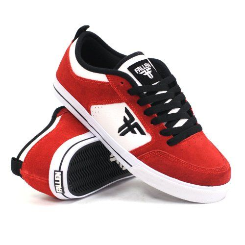 Fallen Clipper Se (Blood Red/White) Mens Skate Shoes -  	     	              	Price:              	View Available Sizes & Colors (Prices May Vary)        	Buy It Now      The Clipper SE from Fallen features a suede upper, padded tongue and collar, and a vulcanized sole for control and feel.   Customers Who Viewed This Item Also Viewed         ...