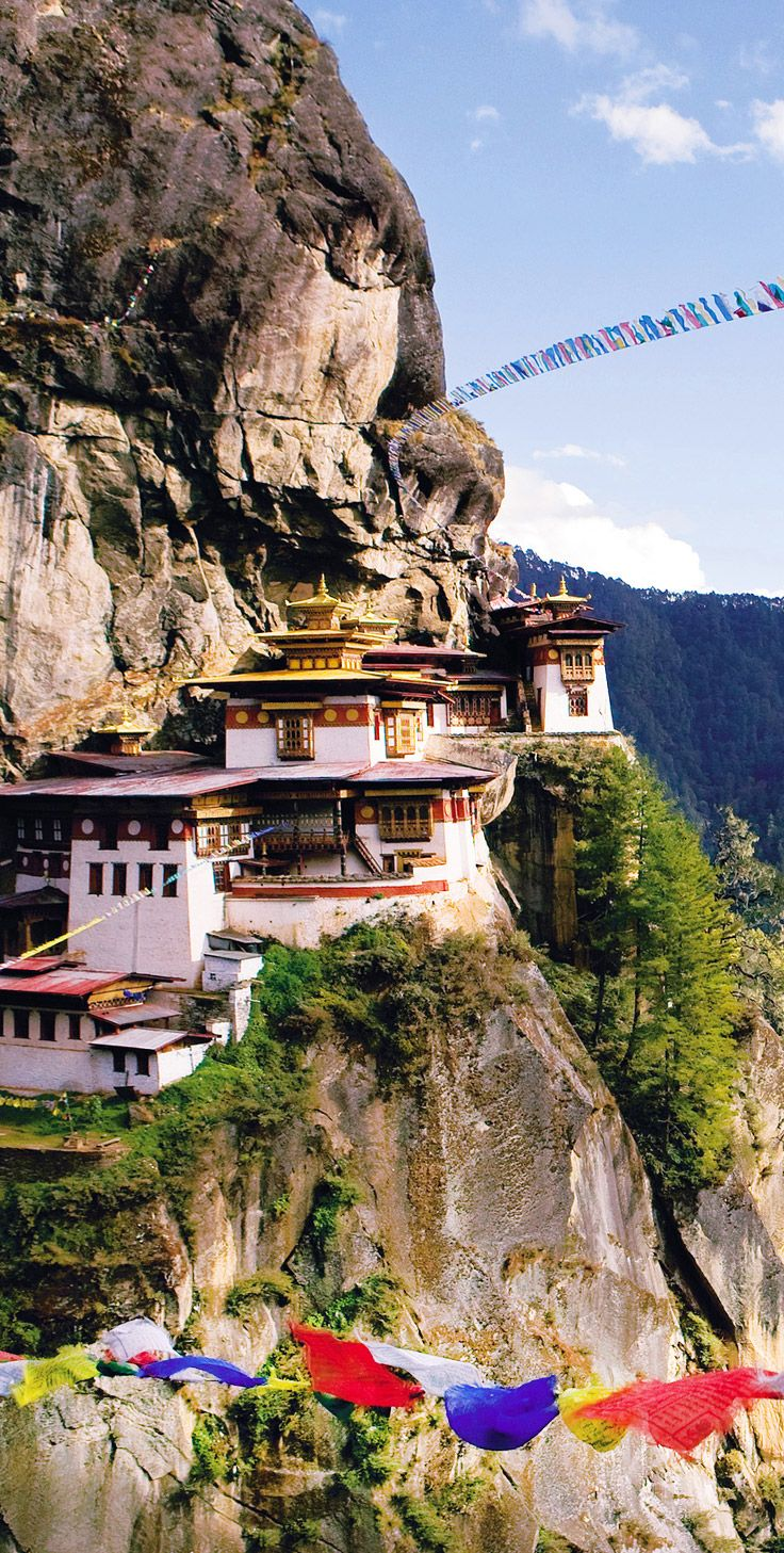 Bhutan in the Himalayas is a transcendently beautiful place with a strong indigenous Buddhist tradition, and the hotels here create an even spiritual hotel experience. Don't miss this sacred monastery, the Taktsang (Tiger's Nest). Click through for our hotels in Bhutan.