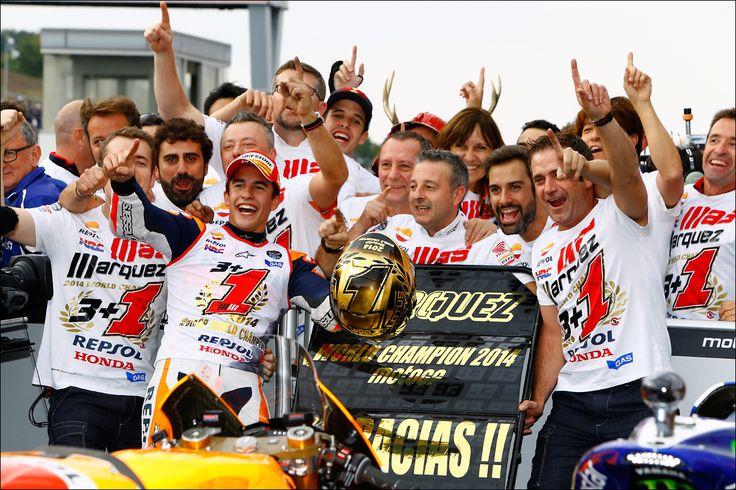 Marc Marquez - 2014 World Champion