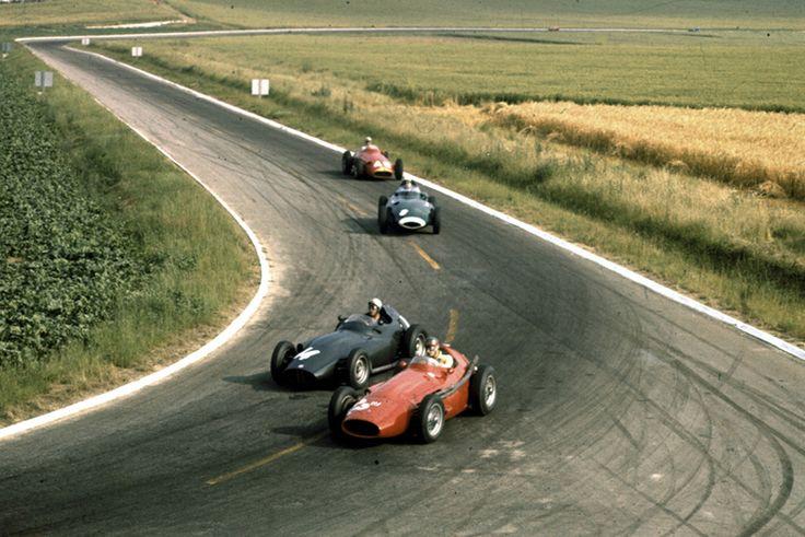 1958 gp francji reims gerino gerini maserati 250f jean for Garage jean behra