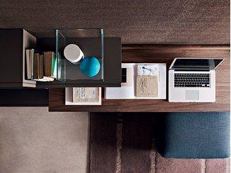 Great Wooden Secretary Desk FORTEPIANO | Secretary Desk   MOLTENI ...