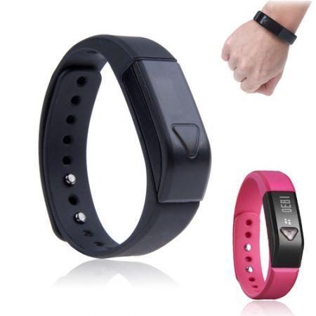 I5 0.49'' OLED IP67 Bluetooth V4.0 Smart Wristband Bracelet /Sports /Sleep Tracking - Black