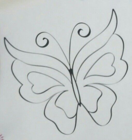 Butterfly. Lovely. Colour it !