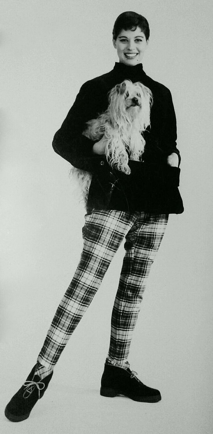 Plaid pants 1960's