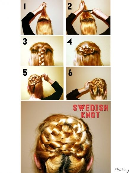 Swedish Knot: Step By Step.  With pretty visuals at that.