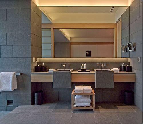 Bathroom Design - Wahbasins dropped down