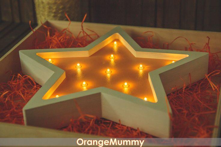 OrangeMummy   Деревянные слова   Декор из дерева