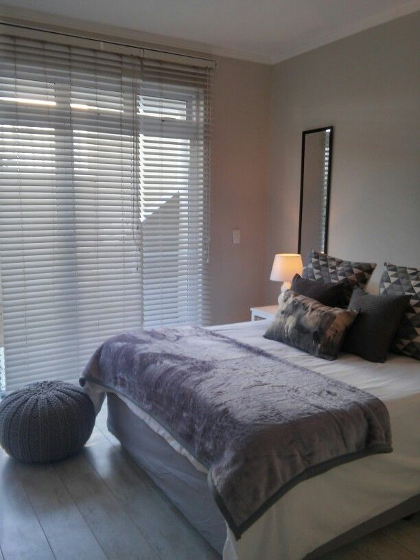 Grey bedroom apartment revamp