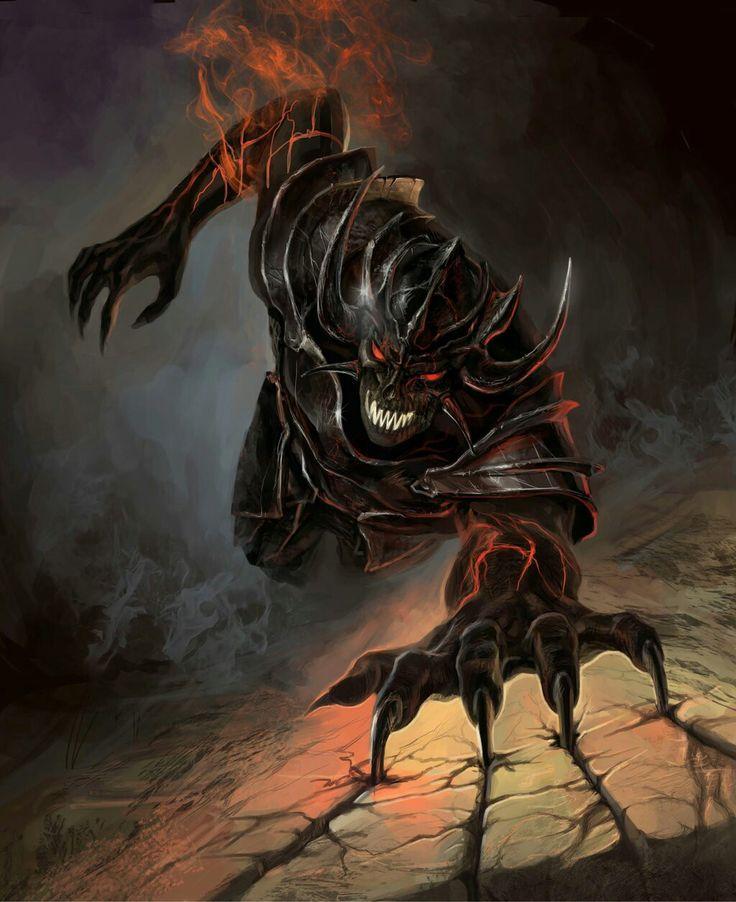 Темные демоны картинки