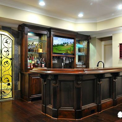 Basement Remodel Ideas - Bar