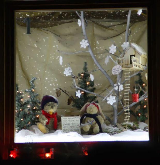 1. Dezember, Adventskalender, begehbarer Kalender #Bretzenheim