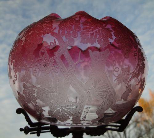 victorian-cranberry-acid-etched-glass-kerosene-oil-comet-fit-gas-lamp-shade-fox