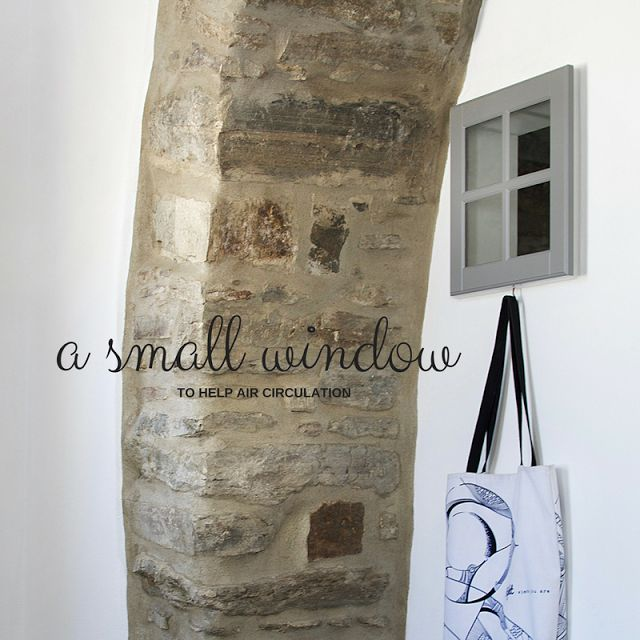 Small island bathroom styling • The Round Button blog