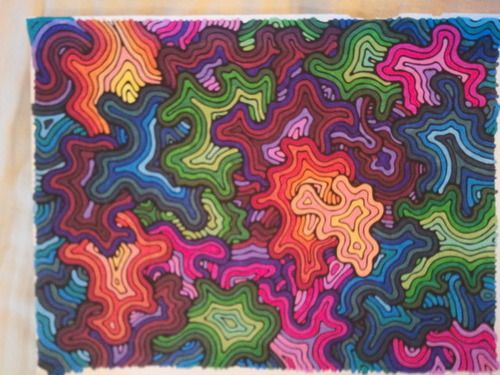 Abstract adventure iv coloring outside the box a kaleidoscopia coloring book kendall bohn