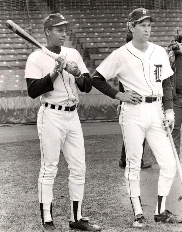 |Detroit Free Press | freep.Lou Whitaker and Alan Trammell wait for batting practice in an undated photo. Detroit Free Press file photo. Sept. 9, 1977: In the second game of a doubleheader, 19-year-old shortstop Alan Trammell and 20-year-old second baseman Lou Whitaker debut for the Tigers. Whitaker is 3-for-5 with an RBI, and Trammell is 2-for-3. They will be Detroit's keystone combination for the next 18 years.