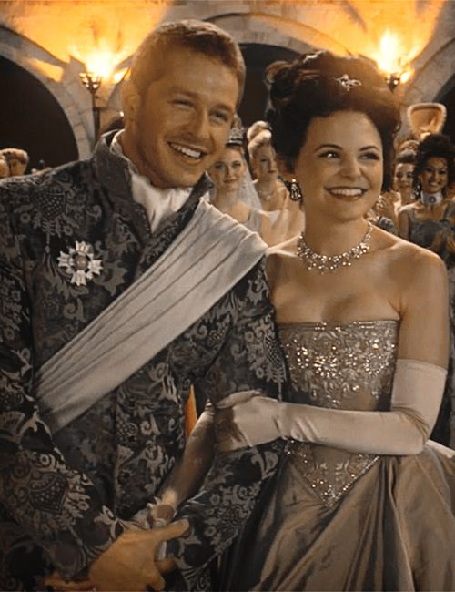 Josh Dallas and Ginnifer Goodwin as Snow White and Prince Charming. <3