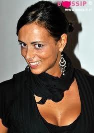 Serena Garitta, personaggio televisivo e conduttrice televisiva italiana, nata a Genova, Liguria, Italy