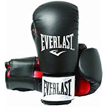 Everlast Rodney - Guantes de boxeo, color negro, talla 12oz