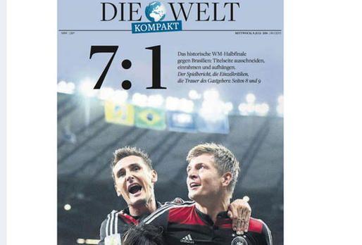 Brasilien gegen Deutschland: Die internationalen Pressestimmen