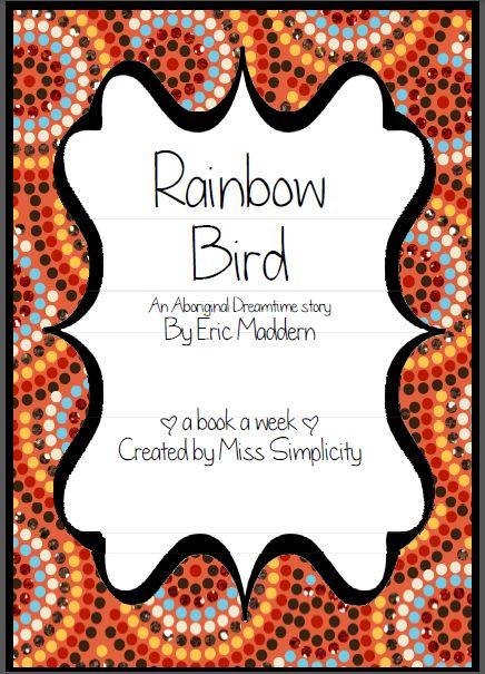 Rainbow Bird literacy activities