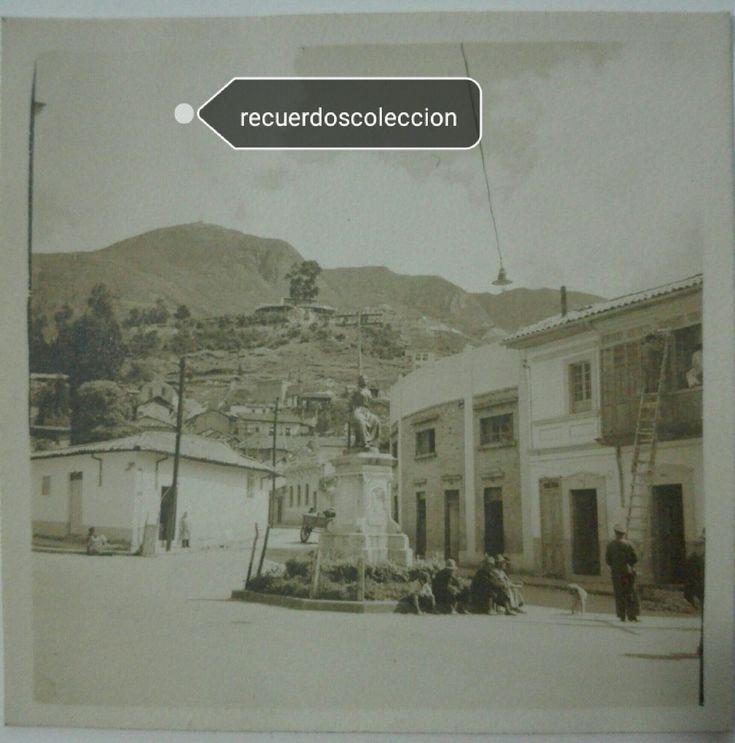 Fotografia antigua de Bogota . Policarpa Salavarrieta . La Pola . Visitanos en nuestra tienda Online  http://www.recuerdoscoleccion.mercadoshops.com.co