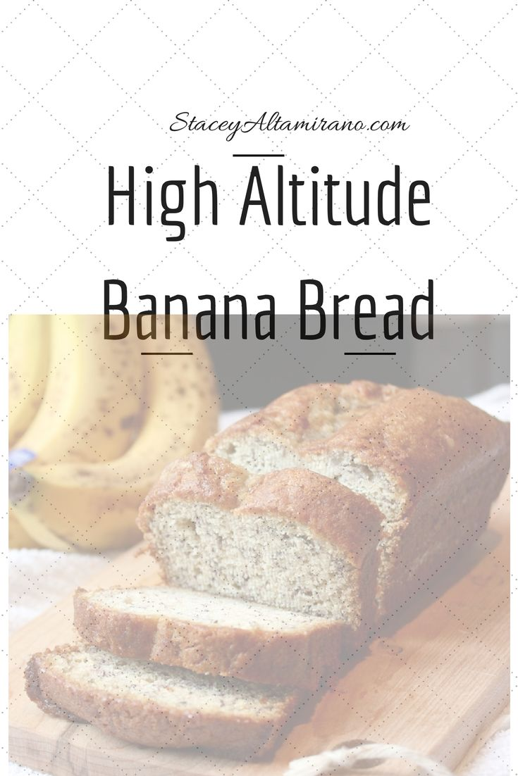 Banana Bread: Great texture but definitely needed to reduce cooking time for my oven