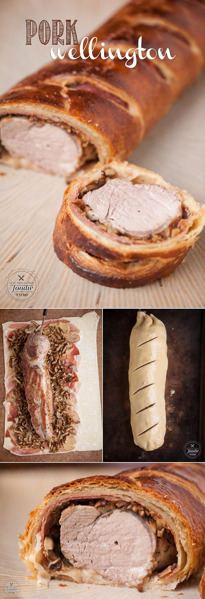 Pork Wellington - An easy dinner that is sure to impress everyone because of its amazing taste and presentation.