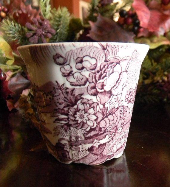 lavender purple toile transferware - photo #35