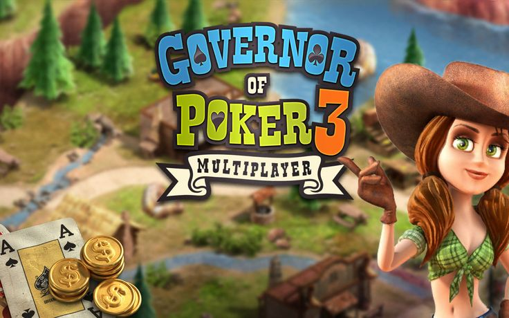 #GovernorOfPoker3 - The best Texas Hold'em Poker game is back!  #poker #freegames #iOS #Android