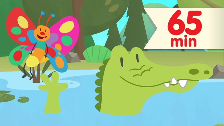 """A goodbye song is a great way to end class on a high note. """"After A While, Crocodile"""" is one of our favorites! It's followed by an hour of more Super Simple Songs. #prek #kindergarten #ESL"""
