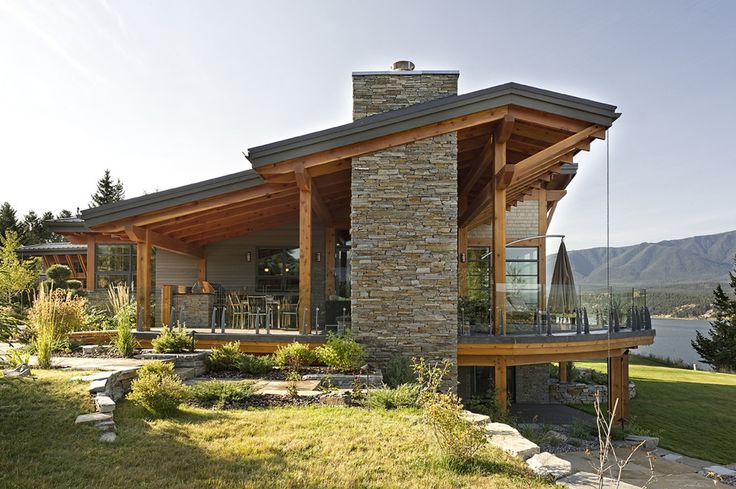 Contemporary Spaces West Coast Contemporary Cedar And Stone Design, Pictures, Remodel, Decor and Ideas