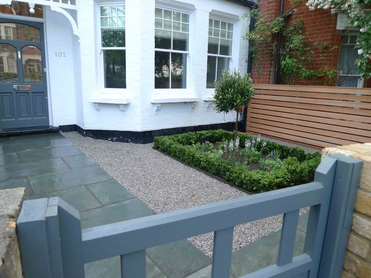 Contemporary Front Garden Design, N10