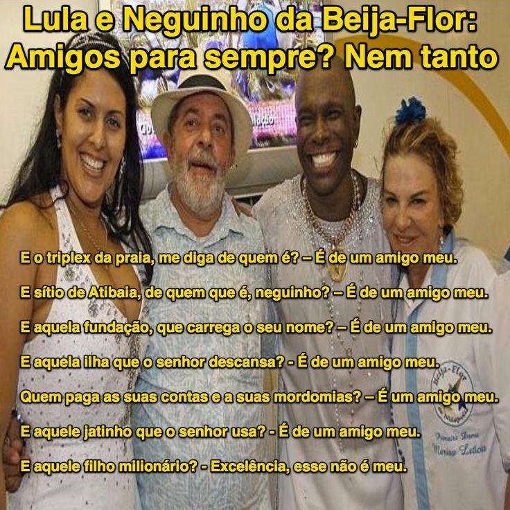 Lula e Neguinho da Beija-Flor: Amigos para sempre? Nem tanto ➤ http://blogs.oglobo.globo.com/blog-do-moreno/post/lula-e-neguinho-da-beija-flor-amigos-para-sempre-nem-tanto.html ②⓪①⑥ ⓪③ ②⑤ #ILoveLula