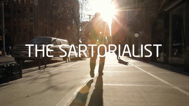Love his work - The Sartorialist by Amsterdam Worldwide.