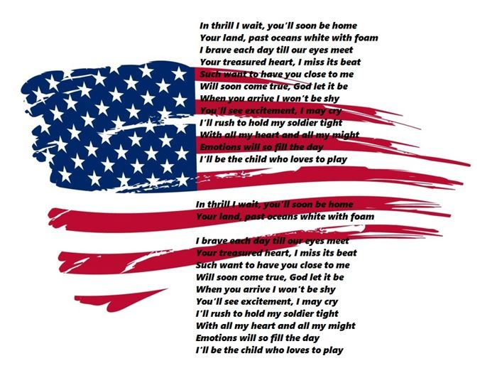memorial day church poems