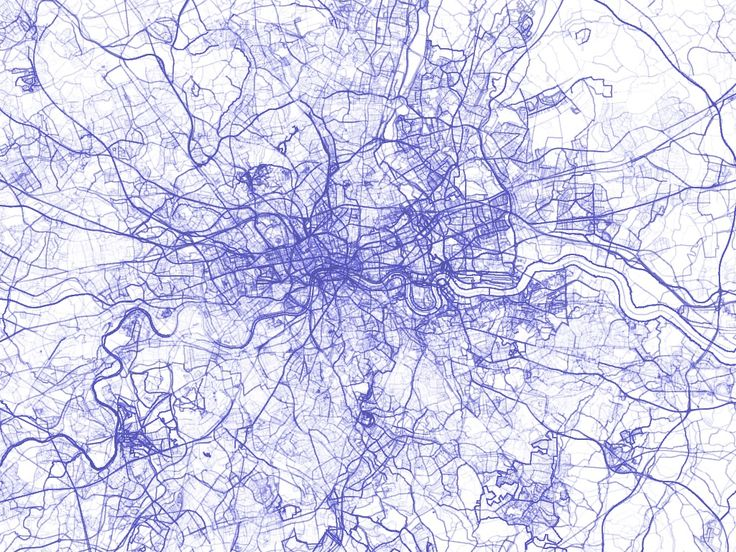 stamen design | OpenStreetMap: Every Line Ever, Every Point Ever