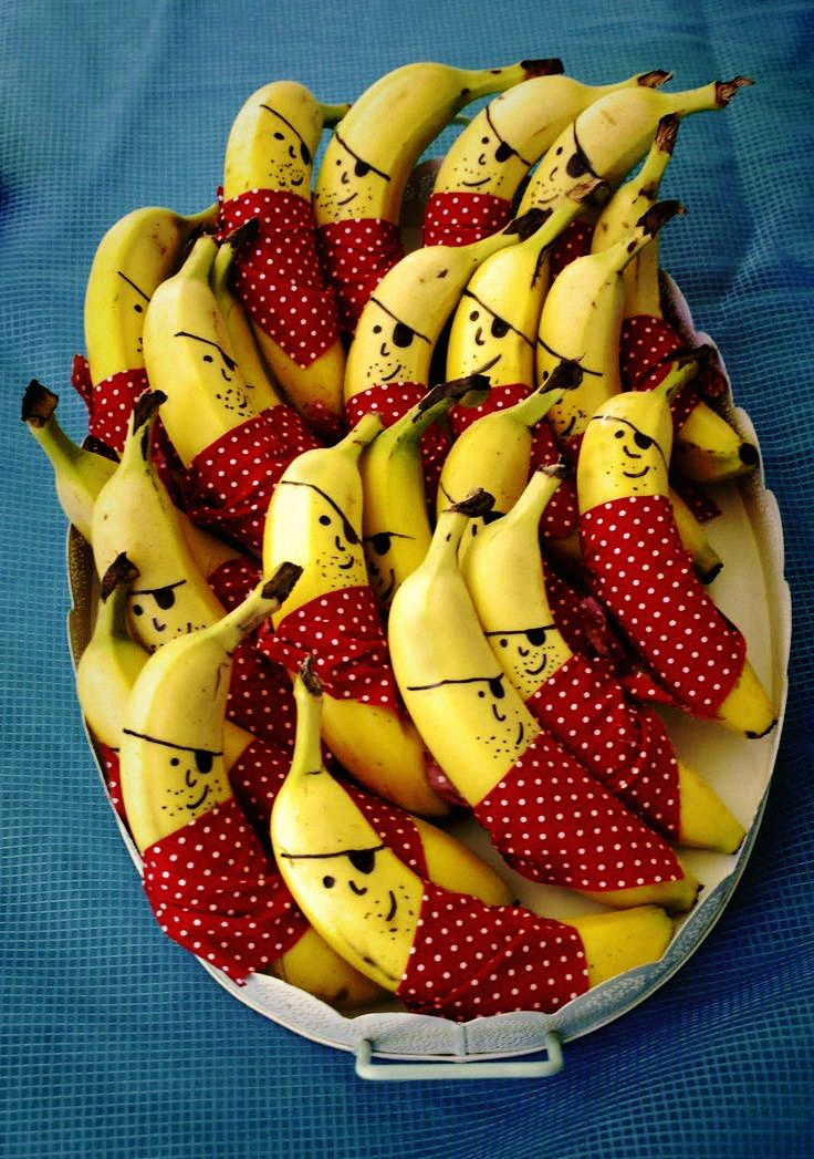 PIRATE PARTY #bananas