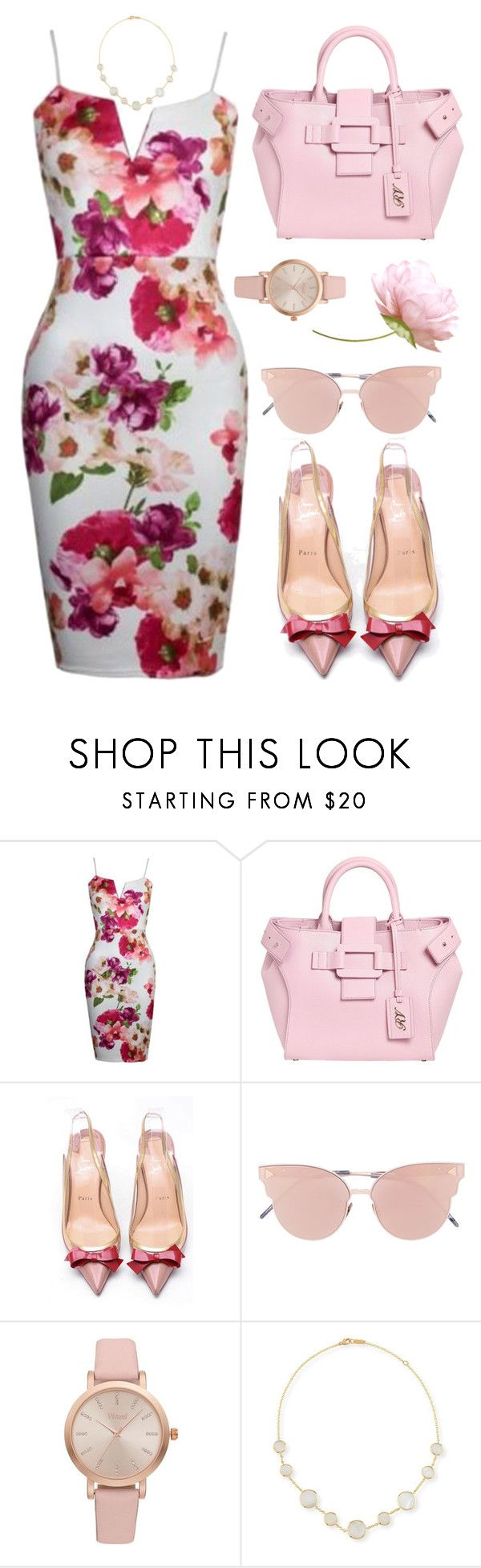 """""""Last Summer Days"""" by hiddensoulmemories ❤ liked on Polyvore featuring WithChic, Roger Vivier, Christian Louboutin, So.Ya, Vivani and Ippolita"""