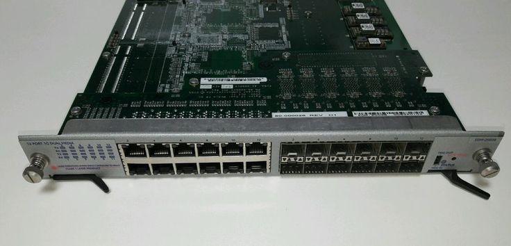 Spirent TestCenter EDM-2003B 12-pt 1G Dual Media Gigabit Ethernet Module, Tested #Spirent