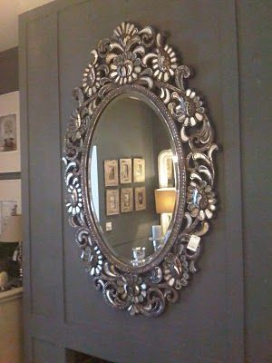 This mirror makes a statement.