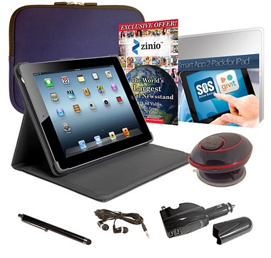 Apple 64GB Wi-Fi 4th Generation iPad Bundle with Retina Display - Black - BLUE - from the Shopping Channel #ilovetoshop