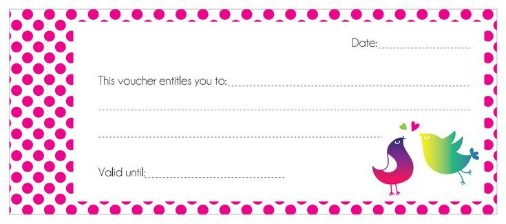Get Creative With These Heartfelt Free Printable Love Coupons: Love Vouchers by The Pretty Blog