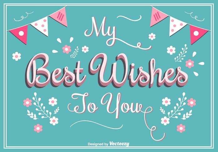 Best Wishes Greeting Card Best Wishes Card Happy Birthday Cards Printable Birthday Card Messages