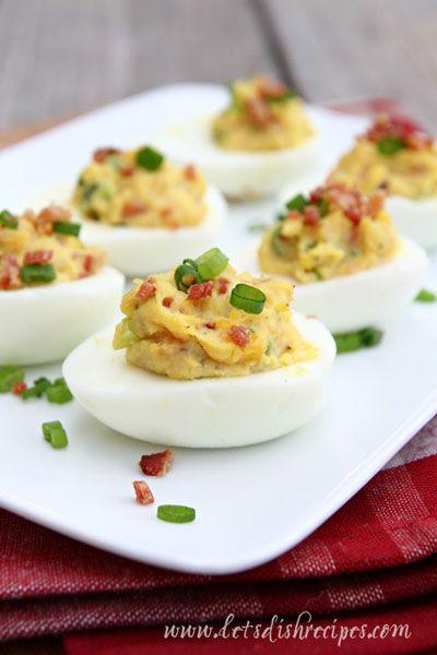 Bacon Deviled Eggs on MyRecipeMagic.com | My Recipe Magic Recipe Exch ...