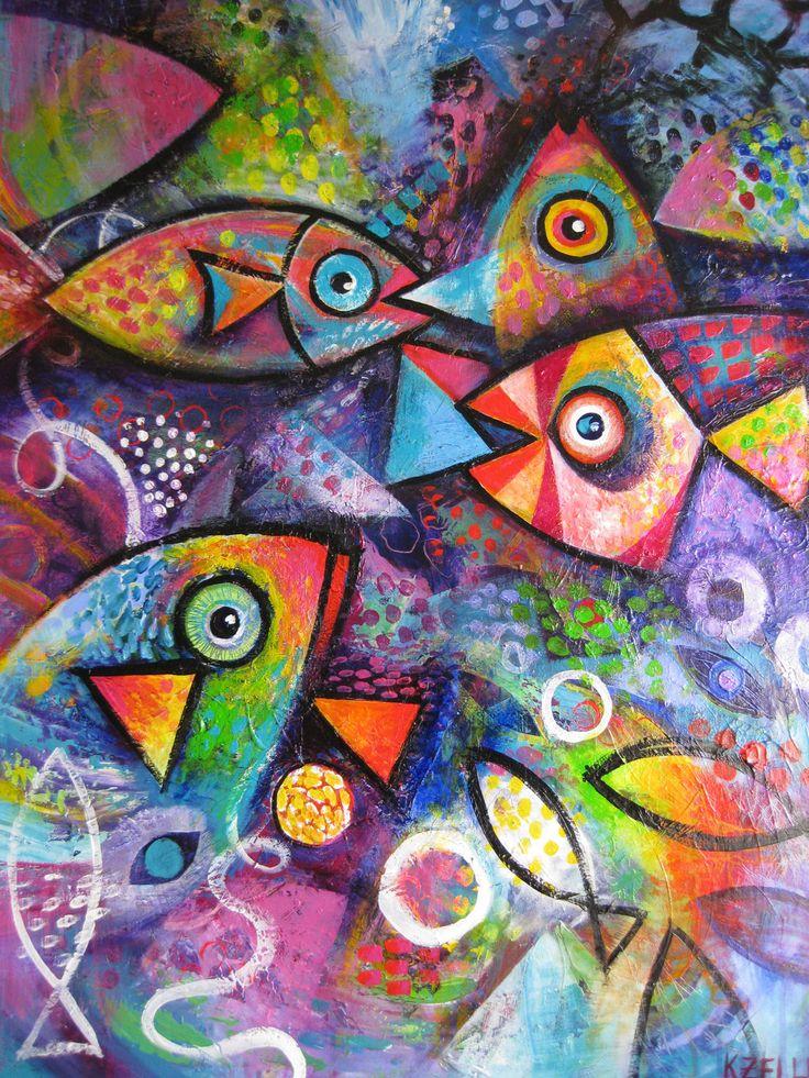 Clown Fish by Karin Zeller